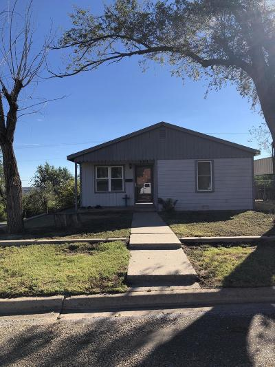 Borger Single Family Home For Sale: 101 Womack St