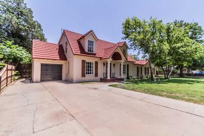 Amarillo Single Family Home For Sale: 1521 S Fannin St
