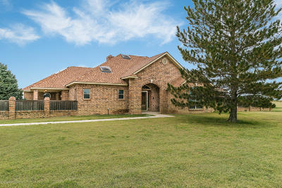 Canyon Single Family Home For Sale: 25001 Oasis Trl