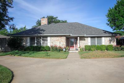 Amarillo Single Family Home For Sale: 4204 Danbury Dr