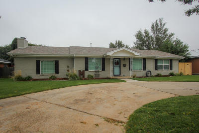Amarillo Single Family Home For Sale: 3703 Lewis Ln