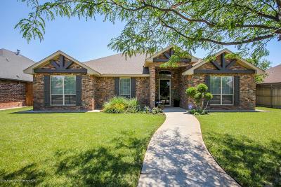 Amarillo Single Family Home For Sale: 6011 Landon Dr