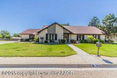 Canyon Single Family Home For Sale: 1408 Creekmere Dr