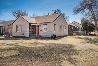 Amarillo Single Family Home For Sale: 3421 10th Ave