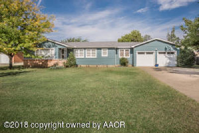 Amarillo Single Family Home For Sale: 6124 Woodward St