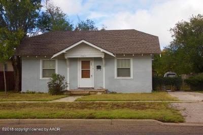 Canyon Single Family Home For Sale: 2003 5th Ave