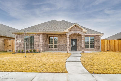 Amarillo Single Family Home For Sale: 6319 Mosley St