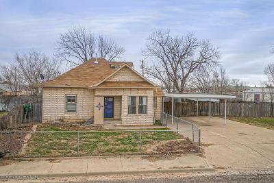 Amarillo Single Family Home For Sale: 1610 Hayes St