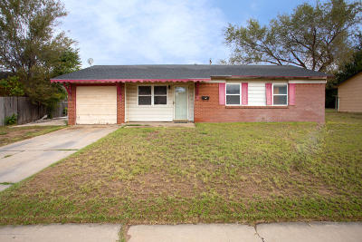 Amarillo Single Family Home For Sale: 1203 Pecan St