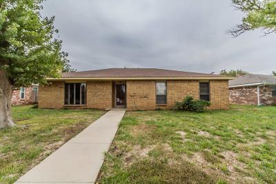 Amarillo Single Family Home For Sale: 7407 Elmhurst Dr