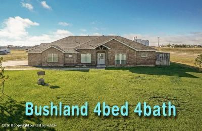 Bushland Single Family Home For Sale: 19151 Sundancer Ln
