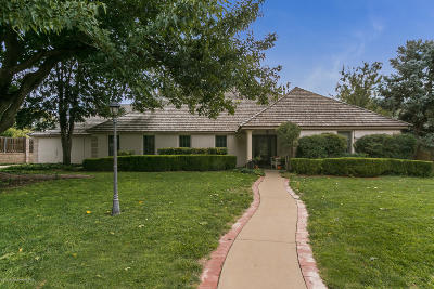 Canyon Single Family Home For Sale: 14 Country Club Dr