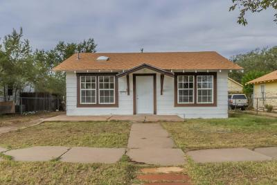 Amarillo Single Family Home For Sale: 806 Hayden St