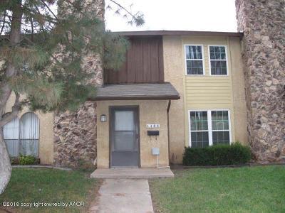 Amarillo Condo/Townhouse For Sale: 4408 Prairie Ave