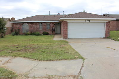 Amarillo Single Family Home For Sale: 5104 Emory Ct
