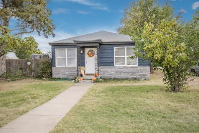 Amarillo Single Family Home For Sale: 4011 Tyler St