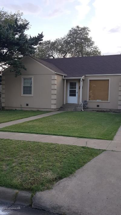 Amarillo Single Family Home For Sale: 2804 Jackson S St