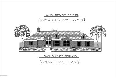 Amarillo Single Family Home For Sale: 5401 Coyote S Spgs