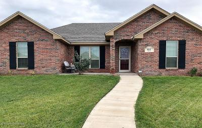 Amarillo Single Family Home For Sale: 9807 Will Ave