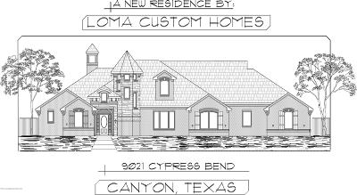 Canyon Single Family Home For Sale: 9021 Cypress Bend