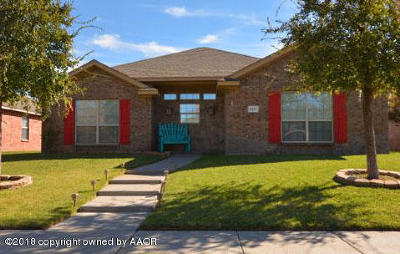 Amarillo Single Family Home For Sale: 8111 Barstow Dr