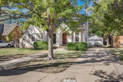 Single Family Home For Sale: 2614 Ong St