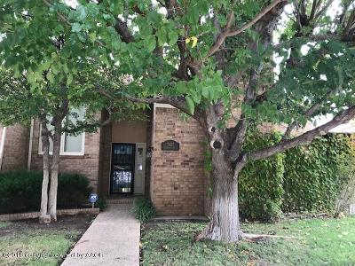 Randall County Condo/Townhouse For Sale: 3427 Tripp Ave