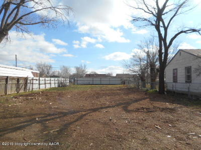 Amarillo Residential Lots & Land For Sale: 3612 23rd Ave
