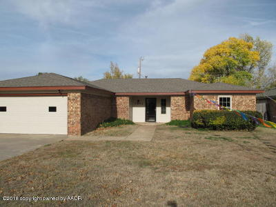 Potter County, Randall County Single Family Home For Sale: 7802 Farrell Dr