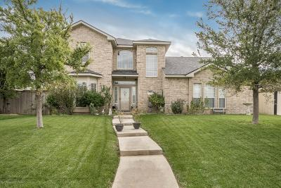 Amarillo Single Family Home For Sale: 1405 Stardust Ln