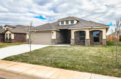 Amarillo Single Family Home For Sale: 9401 Cagle Dr