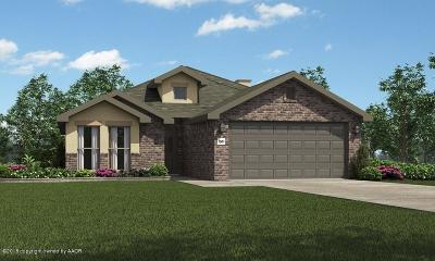 Amarillo Single Family Home For Sale: 9601 Cagle Dr