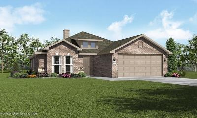 Amarillo Single Family Home For Sale: 9606 Kori Dr