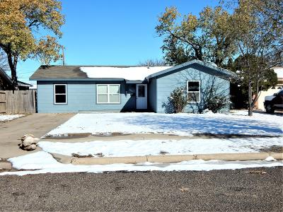 Amarillo Single Family Home For Sale: 3615 30th Ave