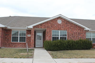 Amarillo Condo/Townhouse For Sale: 2803 Steves Way