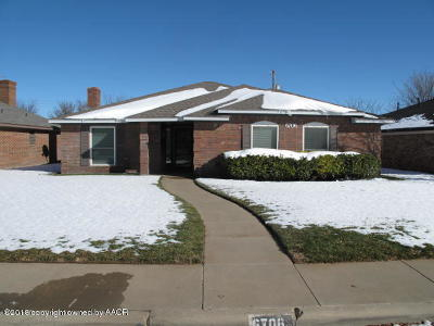 Potter County, Randall County Single Family Home For Sale: 6706 Michelle Dr
