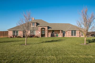 Amarillo Single Family Home For Sale: 19350 Saddlehorn Rd
