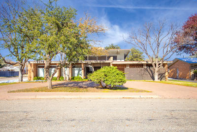 Single Family Home For Sale: 5214 Berget Dr