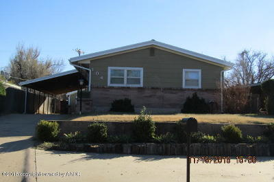 Borger Single Family Home For Sale: 104 Gardner St