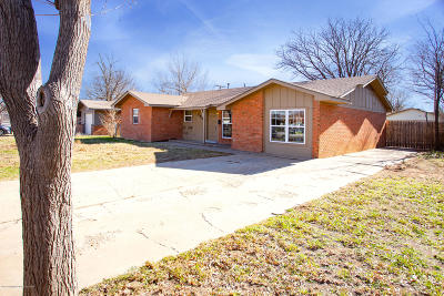 Potter County, Randall County Single Family Home For Sale: 5505 Pinto Ln