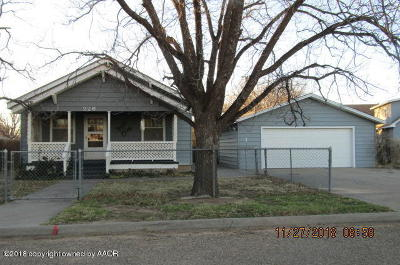Fritch Single Family Home For Sale: 226 Overland Trl