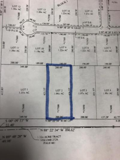 Amarillo Residential Lots & Land For Sale: Lot 2 Indian Hill Rd