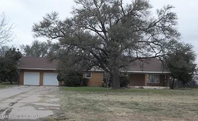 Tulia Single Family Home For Sale: 120 Hillcrest