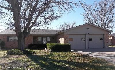 Fritch Single Family Home For Sale: 302 Overland Trail