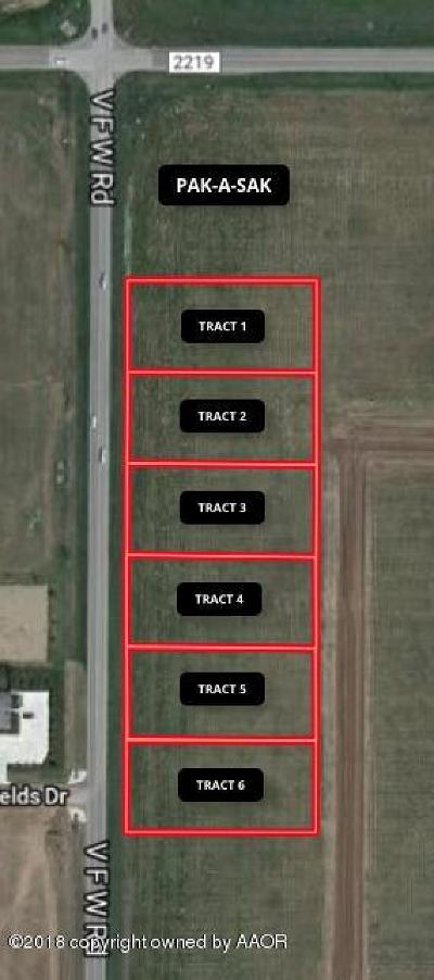 Amarillo Commercial For Sale: Fm 2590 Tract 1
