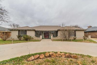 Potter County, Randall County Single Family Home For Sale: 7211 Gainsborough Rd