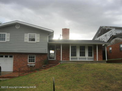 Borger Single Family Home For Auction: 1506 Lancelot