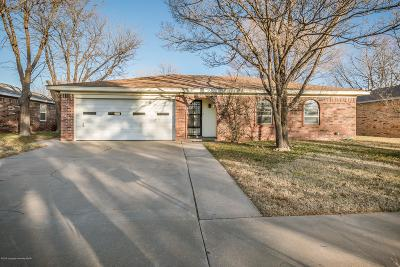 Amarillo Single Family Home For Sale: 2913 Bivins St