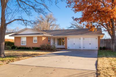 Potter County, Randall County Single Family Home For Sale: 5517 Alvarado Rd