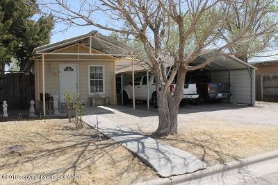 Perryton TX Single Family Home For Sale: $61,000